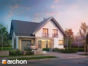 Projekt domu ARCHON+ Dom v orličkách