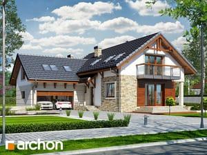 Projekt domu ARCHON+ Dom pod mahagónom ver.2