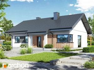 Projekt domu ARCHON+ Dom v chochlačkách 6
