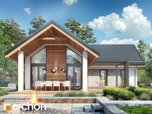 Projekt domu ARCHON+ Dom v marinkách