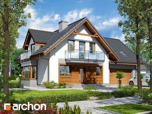 Projekt domu ARCHON+ Dom medzi rododendronmi 20 (G2N)