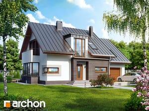 Projekt domu ARCHON+ Dom v kardamóne 2 ver.2