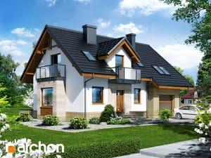 Projekt domu ARCHON+ Dom medzi rododendronmi 15 (N) ver.2