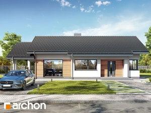 Projekt domu ARCHON+ Dom v galách 6