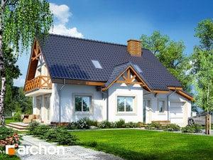 Projekt domu ARCHON+ Dom uprostred hrochora 2 ver.3