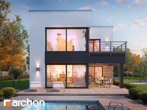 Projekt domu ARCHON+ Dom pri slnečniciach (G2A)