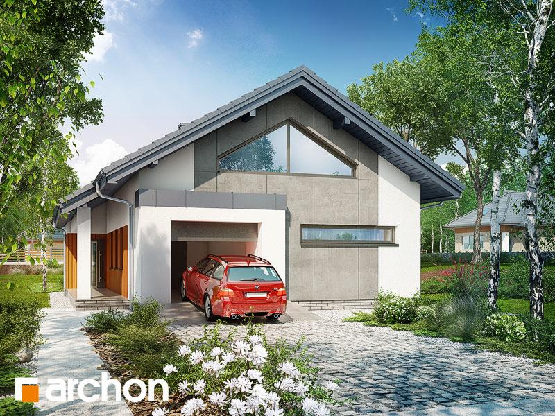 Dom v aráliách - Vizualizácia 2