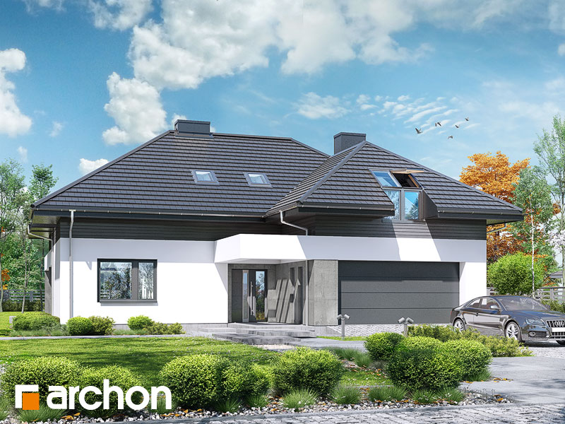 Dom medzi letnými fialkami (G2) - Vizualizácia 2