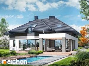 Projekt domu ARCHON+ Dom medzi letnými fialkami (G2)