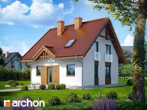 Projekt domu ARCHON+ Dom medzi jahôdkami ver.2