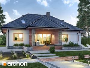 Projekt domu ARCHON+ Dom v akébii 6
