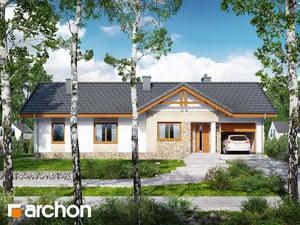 Projekt domu ARCHON+ Dom v nerinkách 4