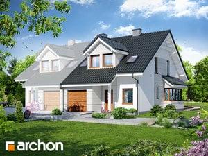 Projekt domu ARCHON+ Dom v plamienkoch 7 (B) ver.3