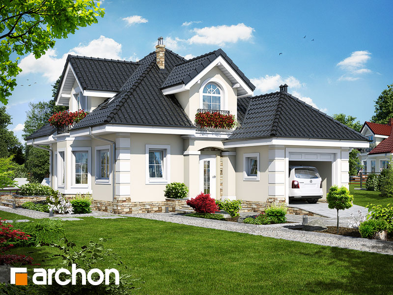 Dom v rukole (P) - Vizualizácia 1