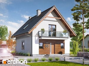 Projekt domu ARCHON+ Dom medzi poniklecmi 3