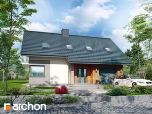 Projekt domu ARCHON+ Dom pri vresoch