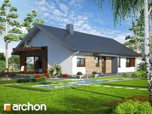 Projekt domu ARCHON+ Dom pod morušou ver.2