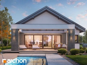 Projekt domu ARCHON+ Dom v peperómiách 2