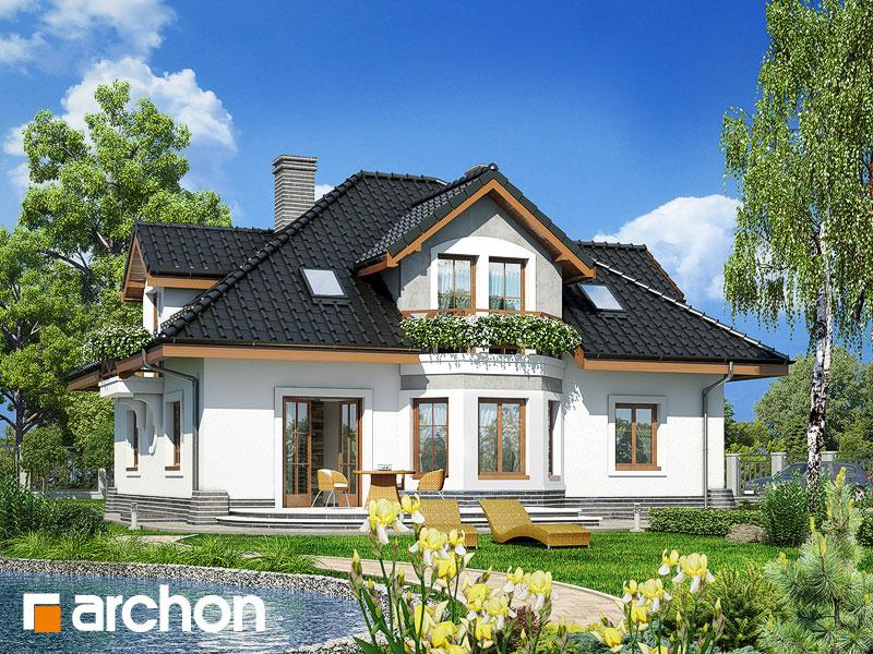 Dom medzi smolničkami (P) - Vizualizácia 2