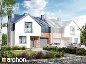 Projekt domu ARCHON+ Dom v barotách (B)