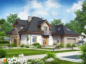 Projekt domu ARCHON+ Dom v nechtíkoch 2 (n)