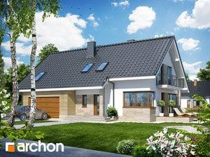 Projekt domu ARCHON+ Dom v idaredách (G2) ver.2