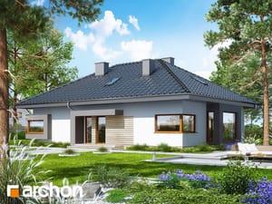 Projekt domu ARCHON+ Dom pod jarabinou 11 (N)