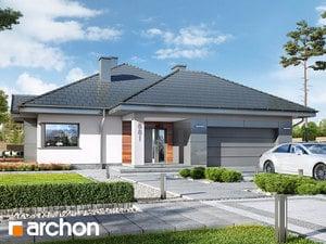 Projekt domu ARCHON+ Dom v jonagoldách 5 (G2PD)
