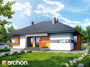Projekt domu ARCHON+ Dom pod jarabinou (PN) ver.2