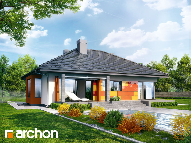 Dom pod jarabinou (PN) ver.2 - Vizualizácia 2