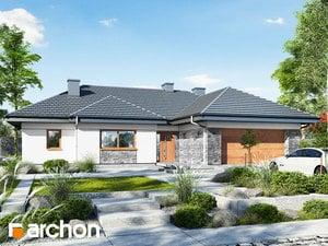 Projekt domu ARCHON+ Dom pri zlatobyle 2 (G2)