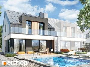 Projekt domu ARCHON+ Dom v plamienkoch 27 (B)