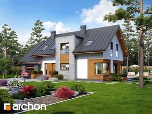 Projekt domu ARCHON+ Dom v rákosí ver.2