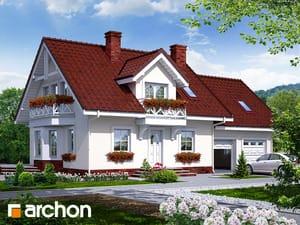 Projekt domu ARCHON+ Dom medzi rododendronmi 6 (G2) ver.2
