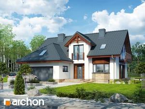 Projekt domu ARCHON+ Dom v kalateách 7 (G2)