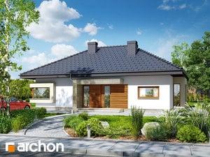 Projekt domu ARCHON+ Dom pod jarabinou 7 ver.2