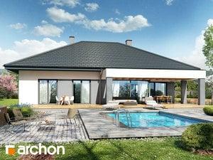 Projekt domu ARCHON+ Dom v snežienkach 2 (G2)