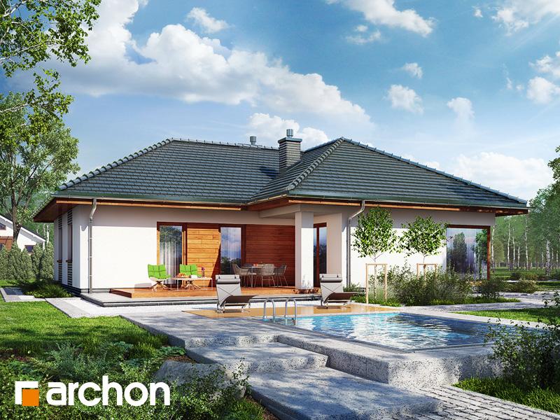 Dom v záružlí - Vizualizácia 2