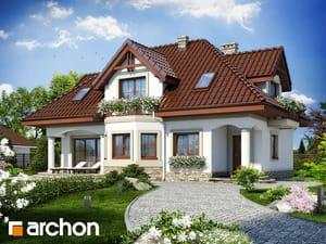 Projekt domu ARCHON+ Dom v majoráne ver.2