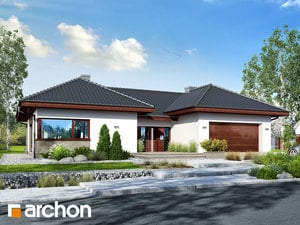 Projekt domu ARCHON+ Dom medzi kliviami 3 (G2)