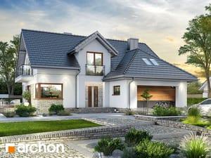 Projekt domu ARCHON+ Dom medzi kortlandami 2 (G2)