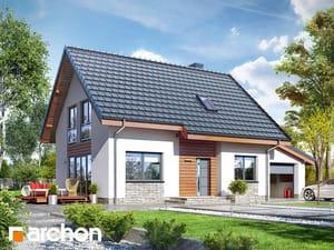 Projekt domu ARCHON+ Dom v zelenči 3 (G)