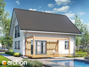 Projekt domu ARCHON+ Dom v zelenci ver.3