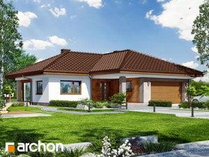 Projekt domu ARCHON+ Dom medzi bergéniami 4