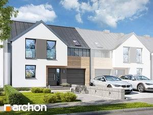 Projekt domu ARCHON+ Dom v barotách 2 (S)