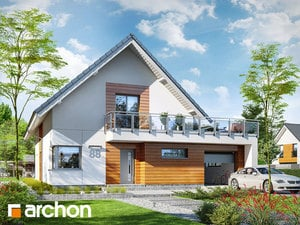 Projekt domu ARCHON+ Dom pri agátoch 2