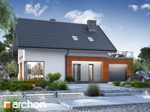 Projekt domu ARCHON+ Dom medzi nátržníkom