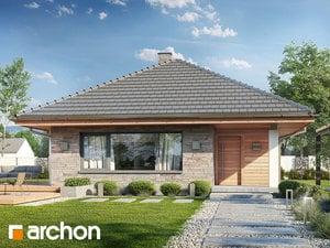 Projekt domu ARCHON+ Dom v orgováne ver.2