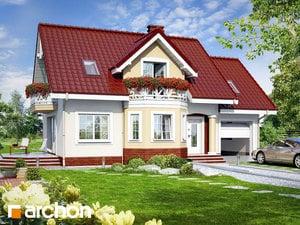 Projekt domu ARCHON+ Dom medzi ananásmi ver.2