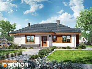 Projekt domu ARCHON+ Dom vo vresoch ver.2